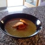 56 - Zuppa di puré di piselli di magro