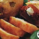 acciughe con pomodori fritte in pastella