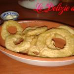 Anelli di patate in pastella