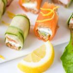 Antipasto di salmone al pancarrè