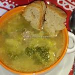 Arriva la neve e partono le zuppe…zuppa portoghese caldo verde