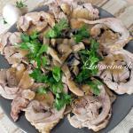 Arrosto di tacchino ai funghi/ mushrooms turkey