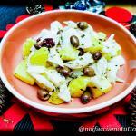 Baccalà al latte con patate e olive taggiasche