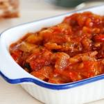 baccala' alla livornese (ricetta tradizionale)