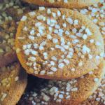 Biscotti al caffe' e granella di zucchero