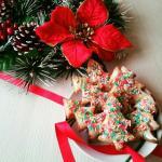 biscotti alberelli di natale glassati