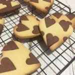 biscotti alla vaniglia e cacao
