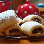 Biscotti con ripieno di datteri e cioccolato (con mambo)