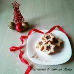 biscotti stelle di natale ripiene di nutella