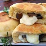 Bombe di patate e funghi al forno