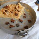 bread pudding al whisky
