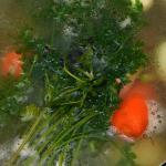 Brodo vegetale, ricetta senza dado