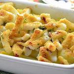Calamari con patate al forno