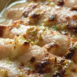 cannelloni di cotto e riso  ,gratinati in forno