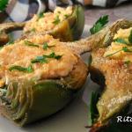 Carciofi ripieni di uova e tonno - Rita's Kitchen