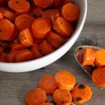 carote agrodolci in padella