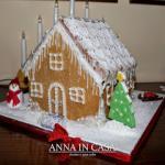 Casetta di pan di zenzero / Gingerbread house - Montersino