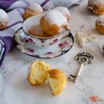 castagnole alla ricotta – ricetta carnevale