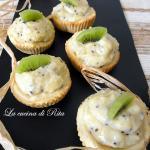 Cestini di frolla con crema al kiwi / tartlets with kiwi cream
