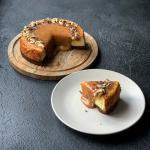 Cheesecake agli anacardi e caramello salato