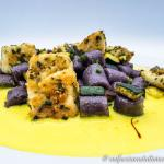 Chicche di patate gluten free con ricciola e zafferano