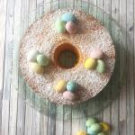 chiffon cake alla vaniglia