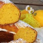 Ciambella con ricotta e limone