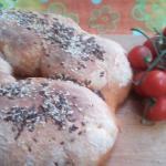 ciambella di  pane al pomodoro per la Giornata Mondiale del Pane