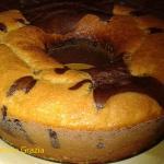 Ciambella marmorizzata al cacao con il (forno versilia)