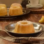 Ciambelline con panna, limone e formaggio cremoso