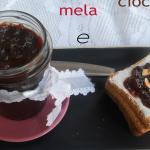 confettura di mele e cioccolato fondente