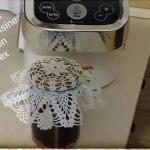 Confettura di Mirtilli  e vaniglia con il Cuisine Companion Moulinex