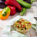 cous cous alle verdure – ricetta vegetariana facile e veloce