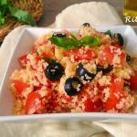 Cous cous estivo, profumi e colori del Mediterraneo - Rita's Kitchen