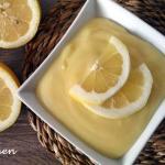 Crema al limone dal sapore delicato