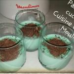 Crema dessert alla menta - Cuisine Companion Moulinex