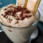 Crema di caffè fredda e senza cottura