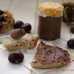 crema di castagne spalmabile con cioccolato fondente