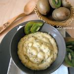 Crema pasticcera al kiwi / kiwi pastry cream