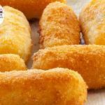 crocchette di patate con acciughe e tonno
