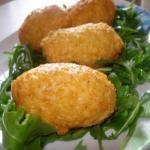 crocchette riso e mozzarella