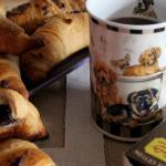 Croissant con cioccolato extrafondente