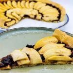 Crostata gluten free con cioccolato fondente e mele