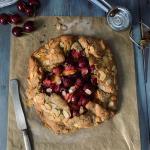 Crostata rustica (galette) di farro alle ciliegie