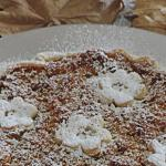 crostata sbriciolata al pandoro con marmellata e crema