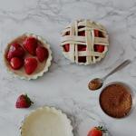 Crostatine con fragole fresche