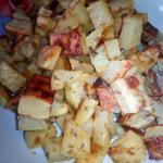 cubotti di patate al forno