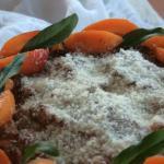 Dolce ricotta e marmellata di albicocche