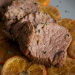 Filetto di maiale soia e arancia