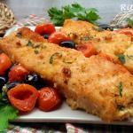filetto di pesce persico alla mediterranea